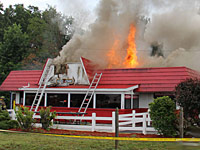 Fire at Dairy Queen
