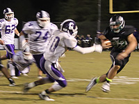 Pickens vs Gilmer Football