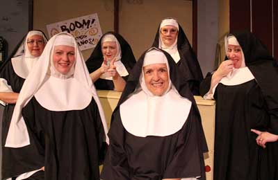 What is all the NUNSENSE?