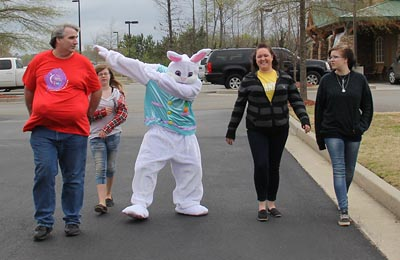 Easter Bunny Around Town