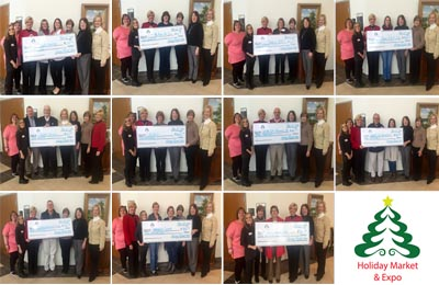 Holiday Market Grant Recipients