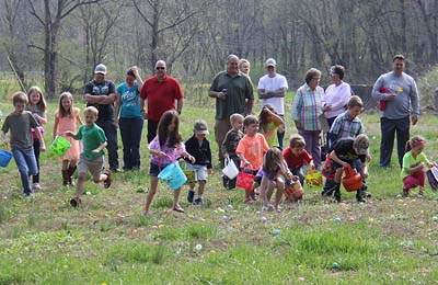 Talking Rock Easter Egg Hunt