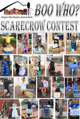 Vote for the Boo Who? Scarecrow Contest