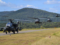 Apache & Black Hawk Helicopters