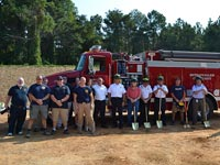Bethany Salem Fire Department Ground Breaking