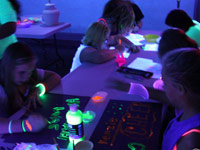 Teen Black Light Party