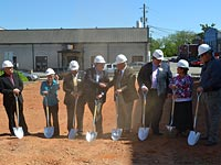 Courthouse Ground Breaking
