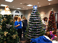Pickens County Library Festival of Trees