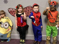 Pickens Library Halloween Party