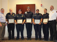 E.M.S. Life Saving Awards