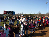 Opening Day Ceremonies for Pickens County Recreation Baseball, Softball & T-Ball