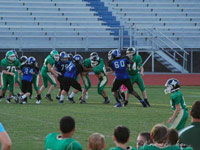 7th Grade Football vs Ashworth
