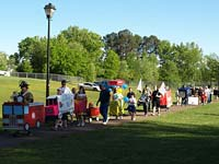 Relay for Life in Lee Newton Park