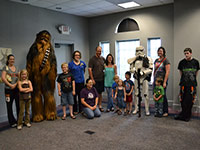 StormTroopers Visit Library