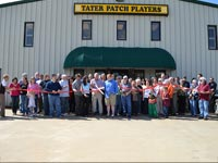 Tater Patch Players Theater Ribbon Cutting