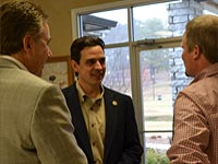 Congressman Tom Graves visits Chamber