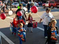 Trick of Treat in Downtown Jasper