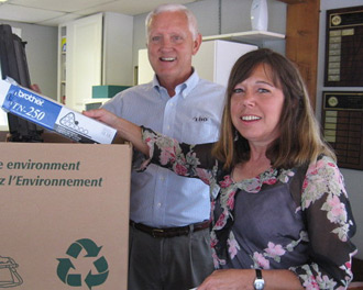 Keep Pickens Beautiful Printer Cartridge Recycling Program