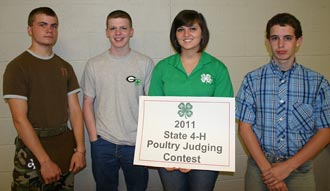 Pickens County 4-H'er wins big at State Contest