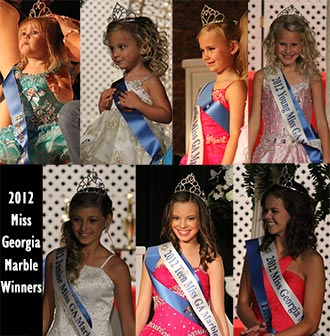 Miss Georgia Marble Winners