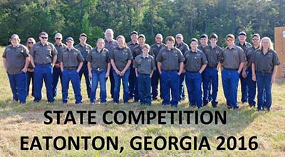 Pickens 4-H S.A.F.E. Team Competed at State