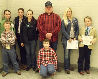 Pickens County 4-H Participates in GA Junior National Show