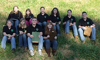 Pickens 4-H'ers Do Well In District Contest
