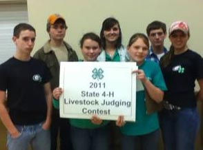 Pickens County 4-H Livestock Judging