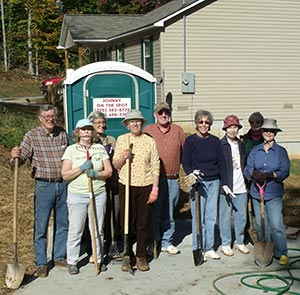 Pickens County 4-H'ers Help With Habitat House