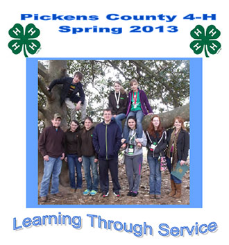 Pickens County 4-H Spring 2013