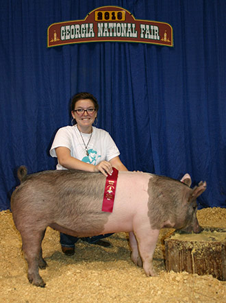 Pickens County 4-H Hog Team Ends Season With Great Success
