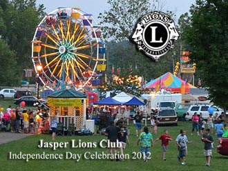 Jasper's Most Talented Competition included in Jasper Lions Club Independence Day Celebration June 28 - July 7