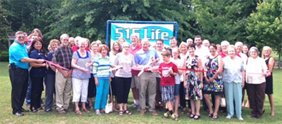 Pickens County Chamber recognizes 515 Life Real Estate Company, LLC with a Ribbon Cutting
