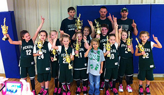 Pickens County 7-8 Girls All-Star Basketball Headed to State Tournament
