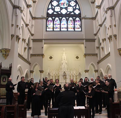 Leading Atlanta Choral Group Sings in Jasper