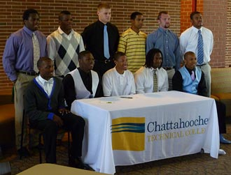 Chattahoochee Tech hosts 16 athletes for March 24 signing day event