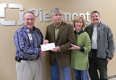 ETC donates to new Parks Flow-Lab at Piedmont Mountainside Hospital