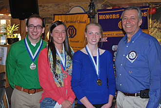 Optimist Club of Jasper Selects Three Winners of Annual Essay Contest