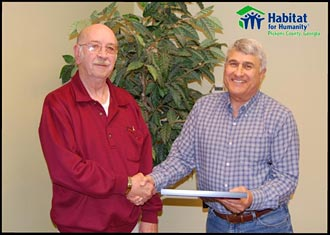 Habitat for Humanity Honors Former Director, Dan Forrester…..