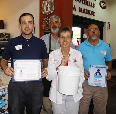 Foothill's IGA Market Donates to Pickens FERST