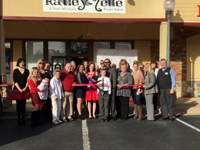 Katie Elle Salon Ribbon Cutting Ceremony