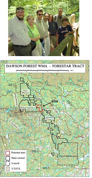 North Georgia Land Trust Helps the State purchase 469 Acres in Dawson Forest
