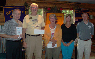 OPTIMIST CLUB OF JASPER CONTINUES COMMUNITY DONATIONS