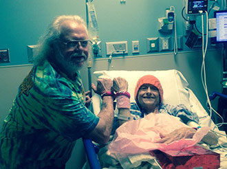 Blue Ridge couple fights wife's cancer hand-in-hand