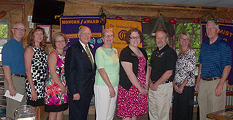 OPTIMIST CLUB OF JASPER MAKES 2013 DONATIONS