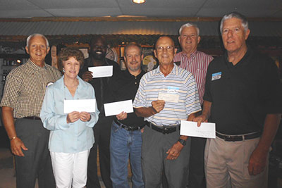 OPTIMISTS CONTINUE ANNUAL DONATIONS
