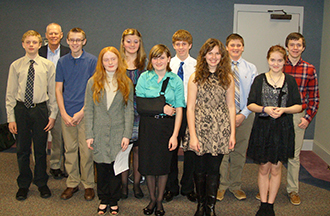 OPTIMIST CLUB HOLDS ANNUAL ORATORICAL CONTEST