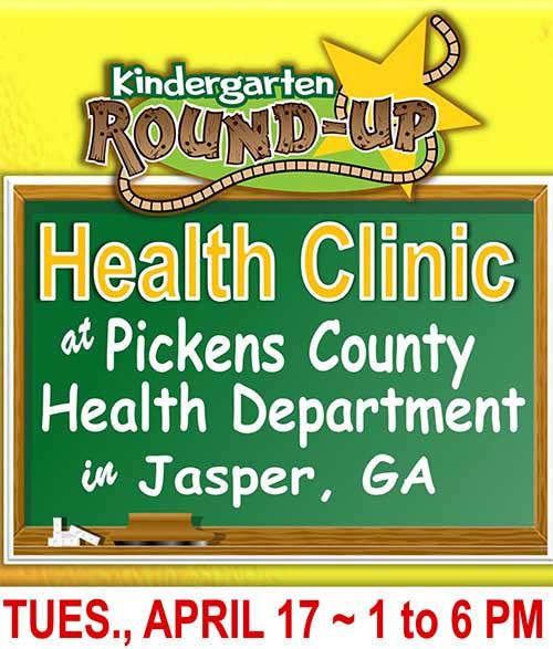 Kindergarten Round-Up Health Clinic
