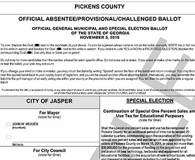 Advanced Voting for November 3rd Election Begins