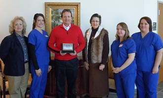 Jasper Eye Associates named Chamber of Commerce Small Business of the Month